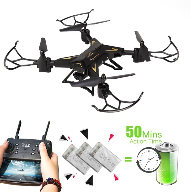 KY601S вертолет Drone с Камера HD 1080 P WI-FI FPV селфи Дрон профессиональная Складная квадрокоптер 20 минут Срок службы батареи