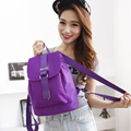 Squirrel fashion nylon solid colorful bright women backpacks preppy Korean style vogue hipster youth girls casual travel bag