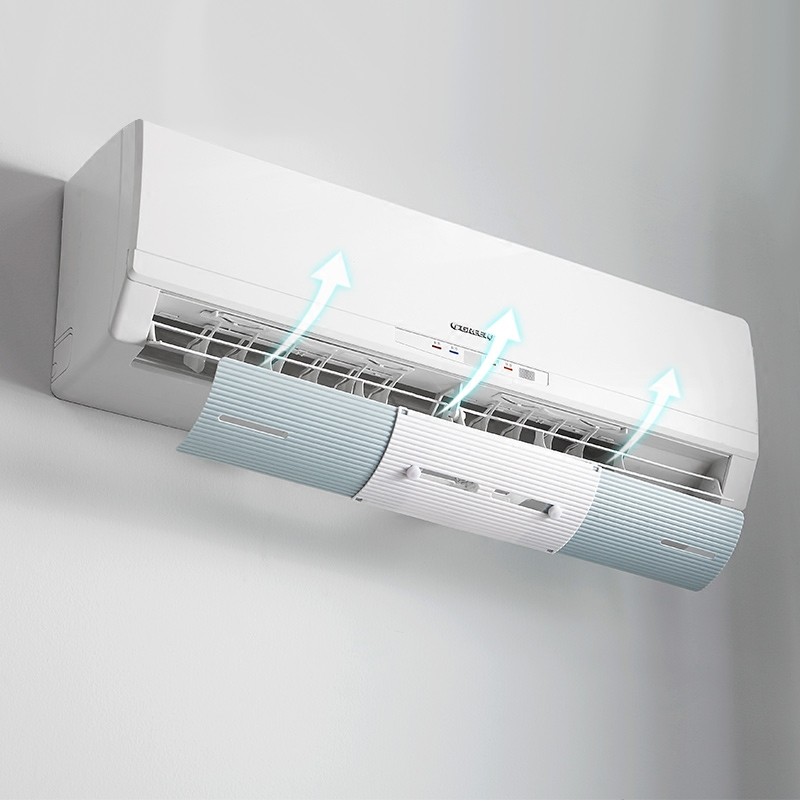2018 Durable Hanging Air Conditioner Windshield Outlet Shutter Plat Effective Prevent Direct Blow Air Bedroom Lounge Wind Shroud