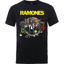 The Ramones Road to Ruin Punk Rock Official Tee T-Shirt Mens Men Brand Printed 100% Cotton T shirt