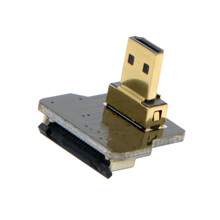 CYFPV Micro HDMI Kind D Male Up Angled 90 Diploma for FPV HDTV Multicopter Aerial Pictures