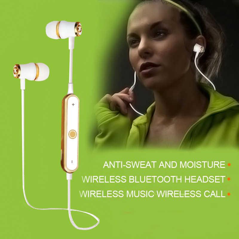 Gorąca sprzedaż N64 bezprzewodowy zestaw słuchawkowy Bluetooth słuchawki słuchawki super bass zestaw słuchawkowy dla aktywnych odporny na pot bezprzewodowe słuchawki douszne zestaw głośnomówiący z mikrofonem