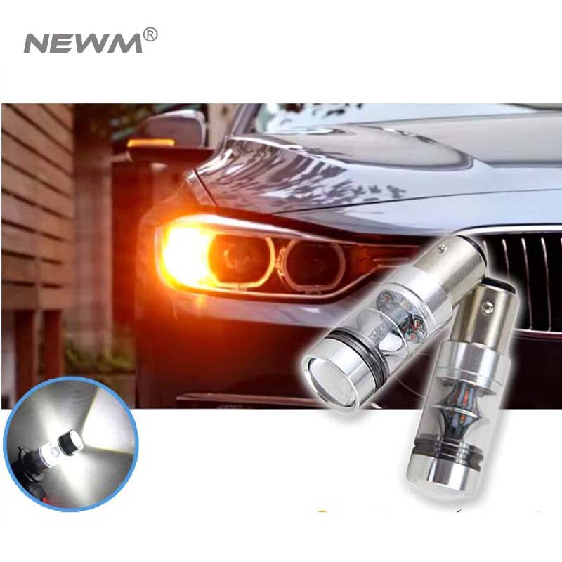 Canbus Car LED Lamp 1156 75W CREE Chip Backup Reverse Light Bulb for Volkswagen for VW jetta for Passat B1 B2 B4 B3 B5 B6 T4 T5 hottest 20w canbus high power white cree chip t15 w16w912 921 led replacement reflector bulbs for car backup reverse light