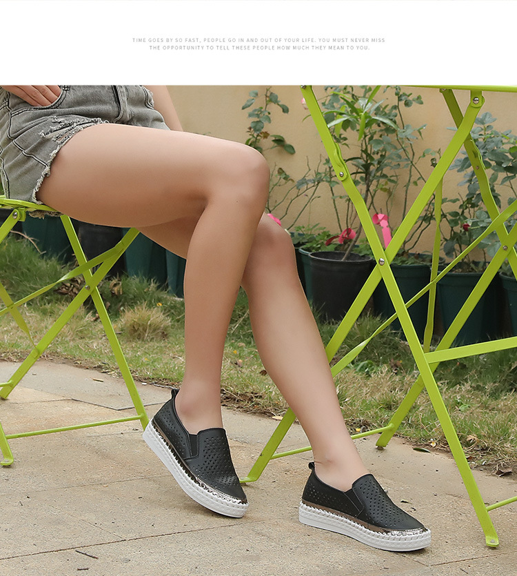 Women Casual Leather Summer 9
