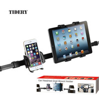 Phone Tablet Car Holder Mount Auto Car Tablet Seat Headrest Dual Mount Stand Tablet Accessories For