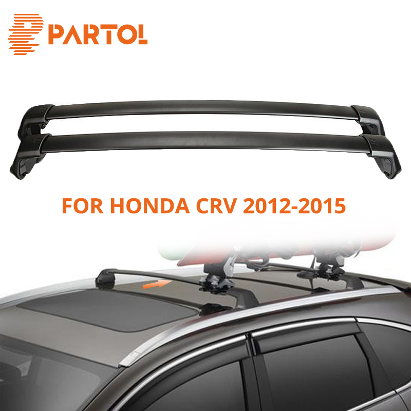 Partol Black Car Roof Rack Cross Bar Crossbars Top Box Cargo Luggage Carrier Roof Rack Cross bars 150LBS For Honda CRV 2012-2015 nordic modern 10 head pendant light creative steel spider lamps unfoldable living room dining room post modern toolery led lamp page 2