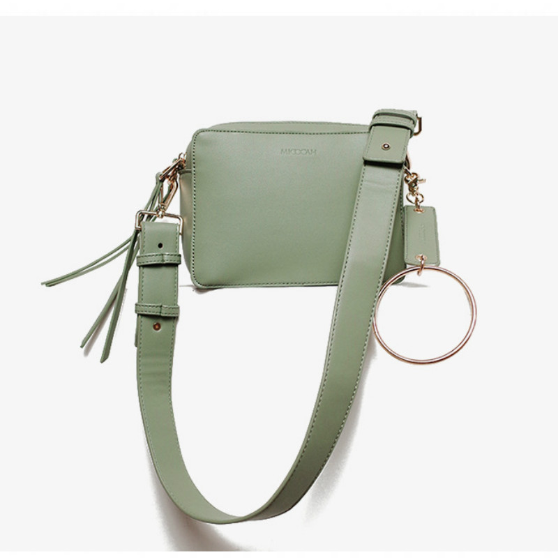 Detail Feedback Questions about Camera bag 2018 new women s bag double  zipper, metal ring, small square bag, shoulder bag, satchel. on  Aliexpress.com ... 3a09f928f7