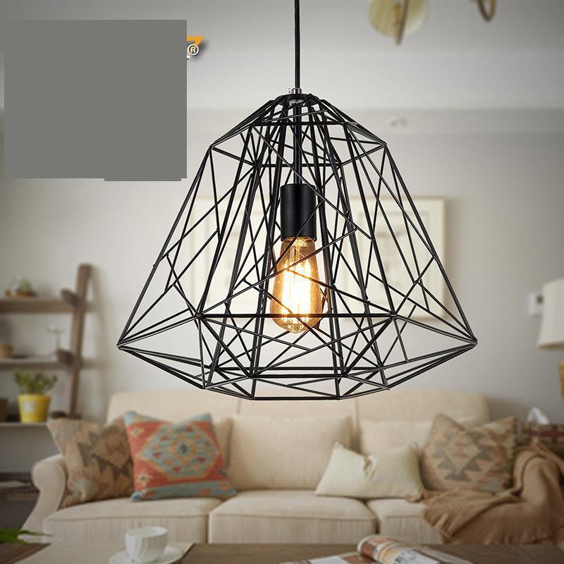 110v 220v Loft Cage Pendant Lights Lamps Lamps For Bedroom Retro Lights Lustre Para Sala De Jantar Lustre Vintage Selle Italia