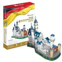 T0406 3D Puzzles Germany New Swan Stone Castle DIY Building Paper Kids Creative Gift Model Children