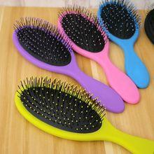 1PC New Salon Detangling Hair Comb for Women Men Hair Bush Wet Dry Bristles Plastic Handle Hair Brushes Combs Hot Selling