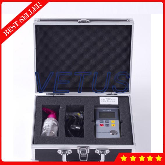 Leeb330 0 7 ~ 300mm ultradźwiękowy miernik grubości do metalu z tworzywa sztucznego szkła ceramicznego miernik grubości miernik tanie i dobre opinie NoEnName_Null 0 1mm + -(1 H+0 1)mm 0 7~300 5920 Metal case Ultrasonic Thickness Gauge 20 ~90 2 AAA alkaline batteries