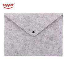 1PCS Simple Solid A4 Big Capacity Document Bag Business Briefcase File Folders Chemical Felt Filing Products Student Gifts недорого