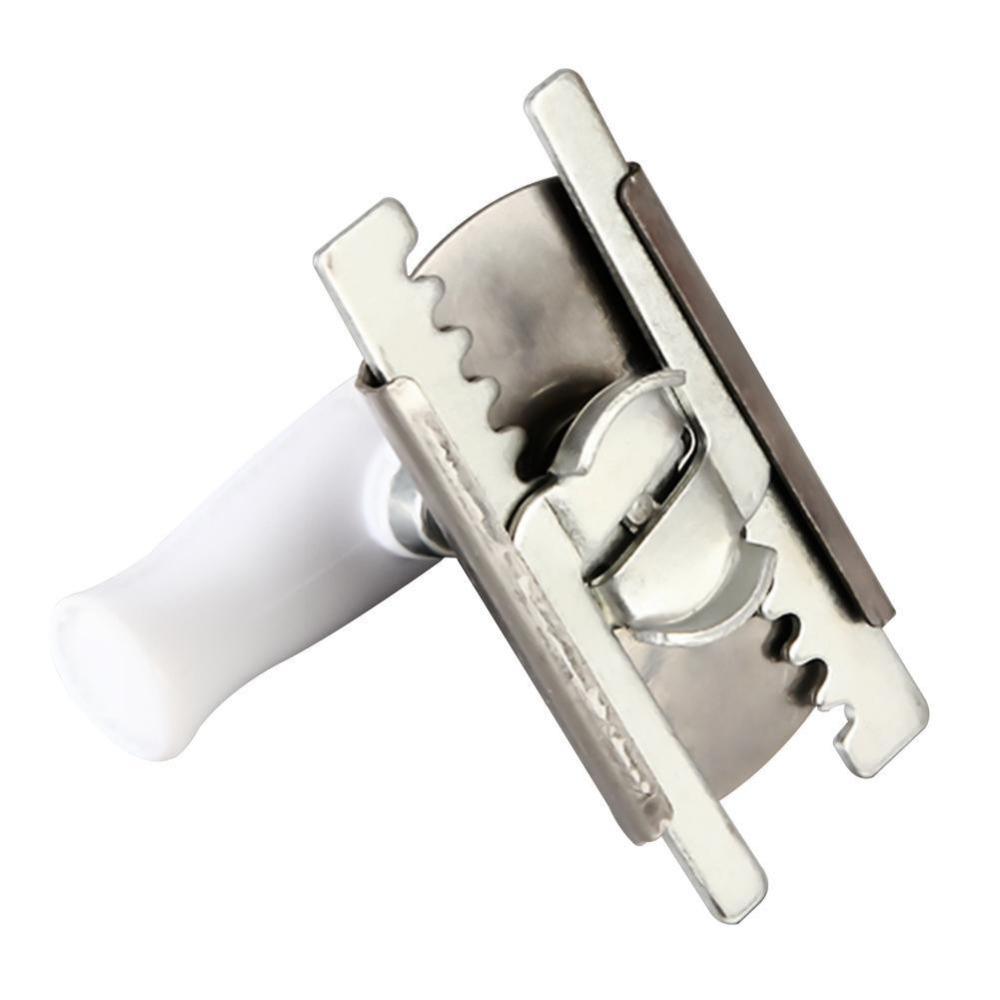 High Quality Adjustable  Stainless Steel Manual Helping Hand Can Opener Bottle Opener