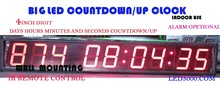 4inch days,hours,minutes and seconds countdown clock(HIT9-4R )