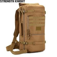 Купить с кэшбэком 2016 Outdoor Sport Women Bag Mountaineering Tactical Backpacks Hiking Camping Men Travel bags Camouflage Laptop Backpack