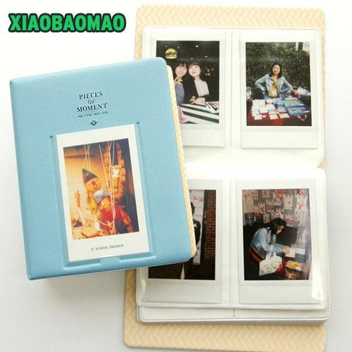 64 components Mini Size 3-inch Polaroid photo Album for Instax Mini Film Size Photo Album name card holder myname 2nd mini album my name release date 2015 2 13 kpop