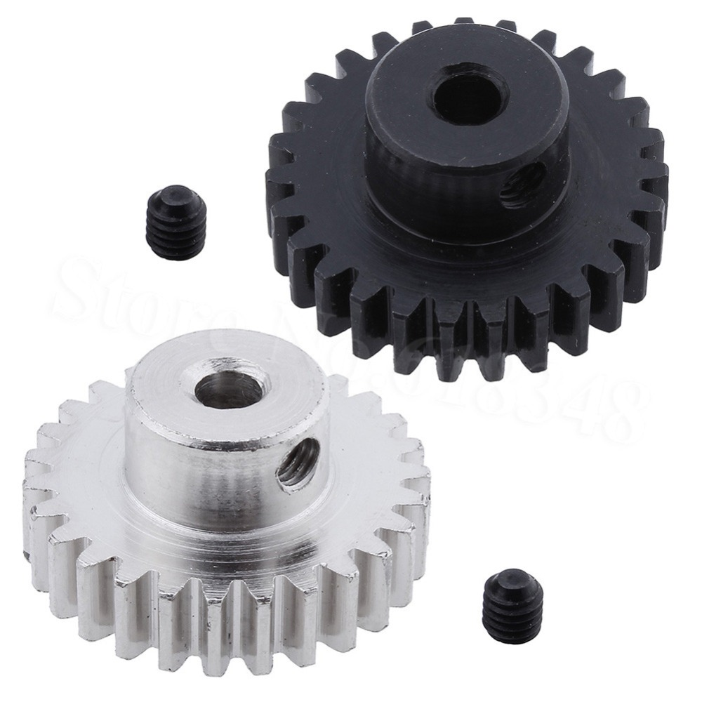 Metal 27 Teeth Motor Pinion Gear Diameter hole: 3.175mm Fit 540 Engine Motors For RC WLtoys 1:18 A959 A969 A979 k929 Model Car wltoys a959 b 13 540 motor 1 18 a959 b a969 b a979 b rc car part