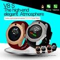 2017 Новое Прибытие Высокого Качества Android Smart Watch V8, Наручные Часы с Камерой OGS Сенсорный Экран MTK6261D Фитнес-Трекер Часы