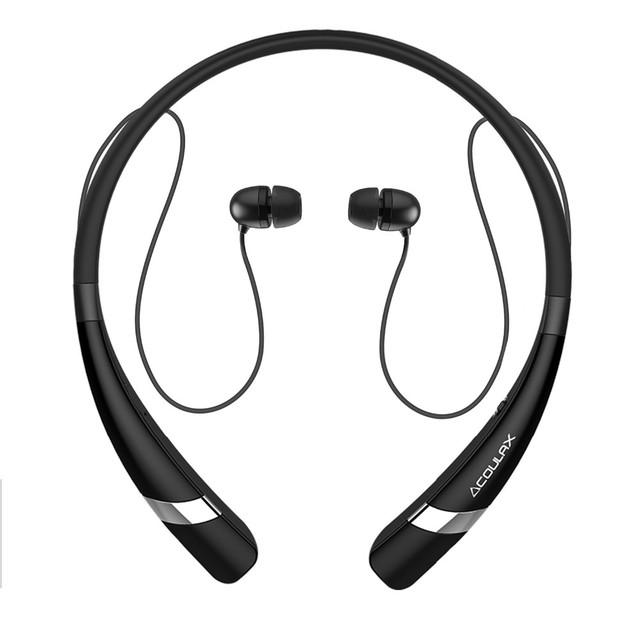 Coulax cx04 bluetooth écouteur sans fil casque avec microphone sport stéréo v4.1 bluetooth casque pour iphone android téléphone