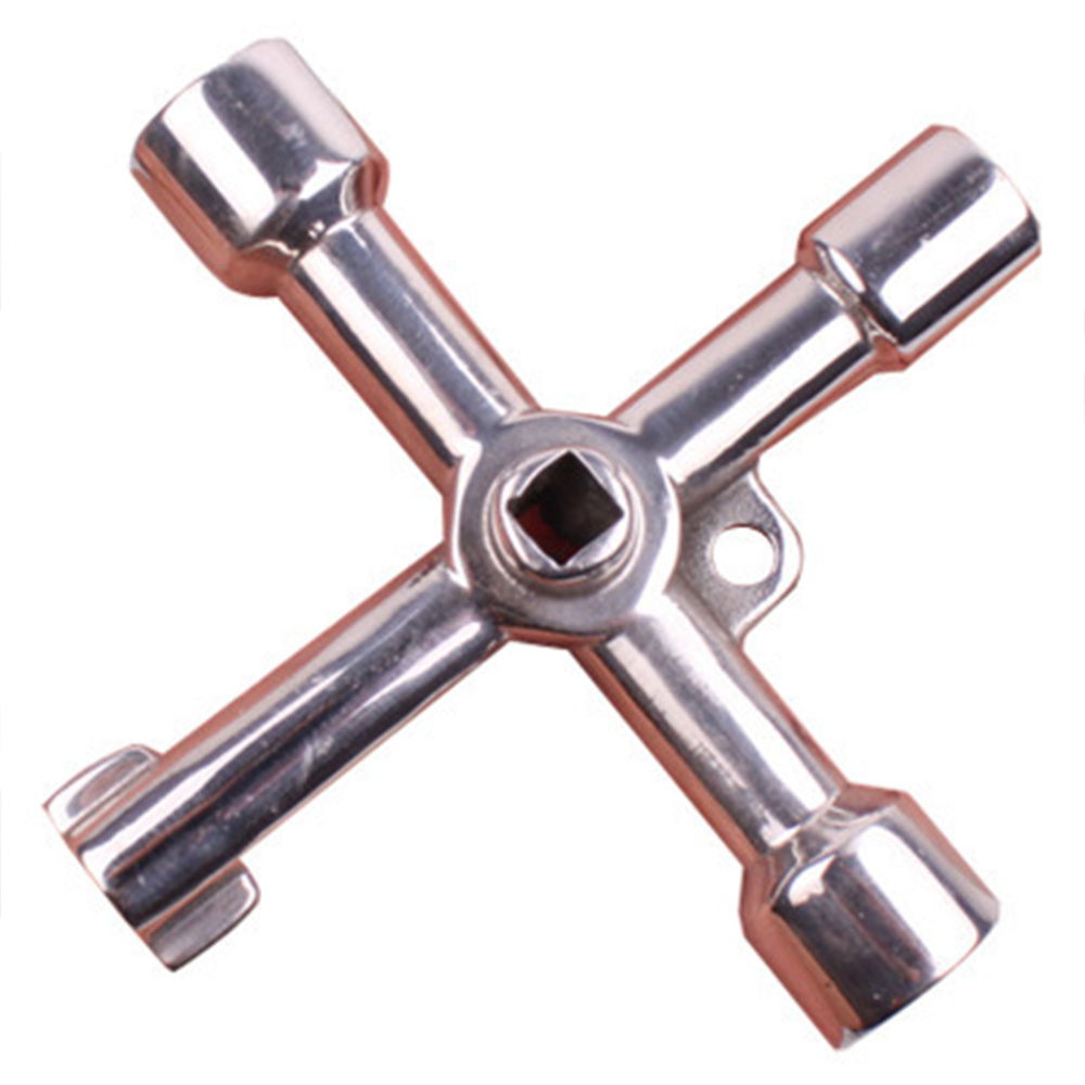 Multi-function Tool Cross Electric Control Cabinet Inside The Triangle Key Wrench Elevator Water Meter Valve Square Hole Key