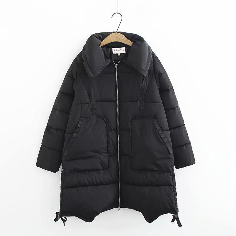 Dow   parka   women down jacket winter coat winter   parka   cotton padded jacket Woman Winter Jacket Coat 2018