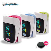 YONGROW New Arrival Pulse Oximeter CE Fingertip Pulse Oximeter Optional Bluetooth PR SPO2 Best OLED Portable