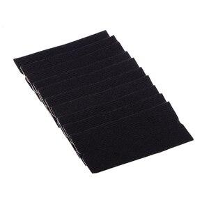 Image 4 - Foshio 10 pçs filme de vinil envoltório do carro feltro tecido + 3pcs fibra carbono rodo raspador para limpeza janela matiz ferramentas de envolvimento automático
