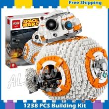 1238 pcs Espaço Guerras Herói Droid BB-8 Robôs Figura 05128 Blocos de Construção do Modelo de Montar Conjuntos Presentes Jedi Set Compatível Com Lego