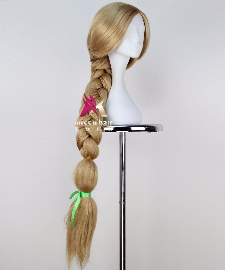 Rapunzel cosplay wig4