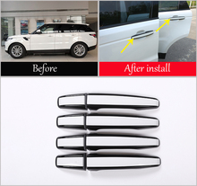 8pcs Car Door Handle Replacement Parts Trims For Land Rover Discovery Sport LR5 Range Rover Sport Evoque Vogue LR405