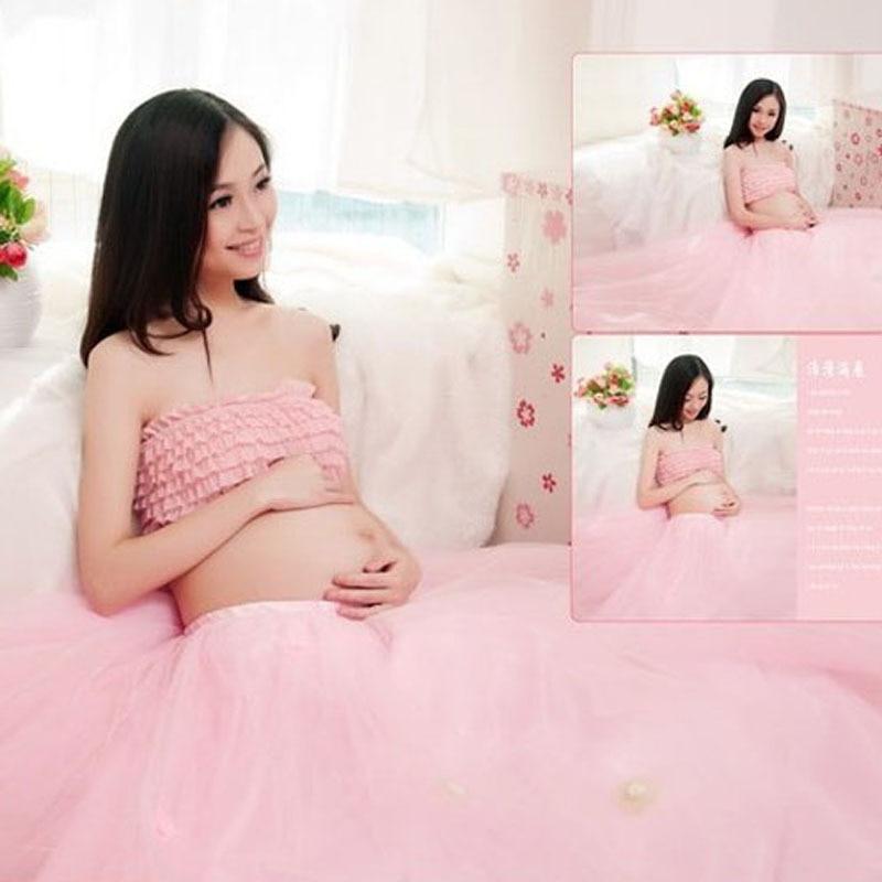 3ae14b3aa Maternidade fotografia Props roupa gravidez vestido Set vestidos para  gestantes roupas da foto do retrato retrato venda quente