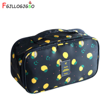 FGJLLOGJGSO Women Travel Toiletry Wash Bra Underwear Make Up Makeup Case Cosmetic Bag Organizer Beautician large Necessary Trip