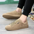 Men Casual Shoes Outdoor Walking Shoes Spring PU Leather Breathable Shoes 2017 Lace-Up Sport Sneakers Zapatillas Superstar Flats