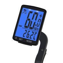 جهاز كمبيوتر لاسلكي للدراجات 2.8 شاشة كبيرة عداد السرعة للدراجات الجبلية دراجة الطريق الكمبيوتر مقاوم للماء ساعة توقيت الرياضة عداد المسافات