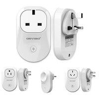 Smart home WiFi Internet Socket Phone EU US AU 10A Electrical Sockets Remote Control Smart Power Plug for smart phone Android AA