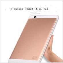 8 pulgadas Tablet PC Octa Núcleo Original de la tarjeta SIM Llamada de Teléfono 3G LTE 4 GB Carnero di; 32 GB Rom Android 6.0 Bluetooth GPS WiFi FM Tablet PC