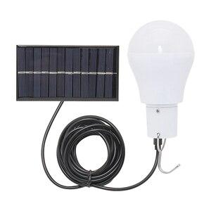 Solar LED Bulb 15w 150lm Energy saving light Portable Wall Lamp for for Camping Hiking Fishing Emergency lighting(China)