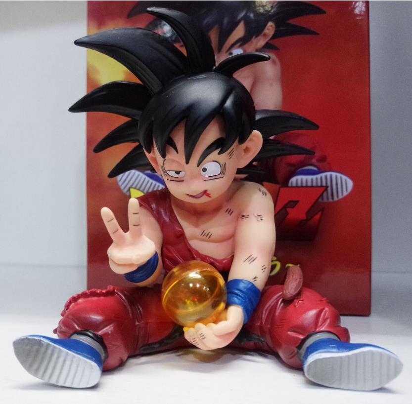 10cm Dragon Ball Kakarotto Son Goku childhood Action figure toys doll Christmas gift with box10cm Dragon Ball Kakarotto Son Goku childhood Action figure toys doll Christmas gift with box