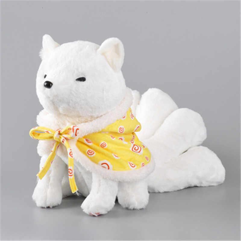 อะนิเมะการ์ตูน Gumiho nine - tailed fox ตุ๊กตาเสื้อตุ๊กตาของเล่นเด็กน่ารักสาวอะนิเมะของขวัญฮาโลวีนคอสเพลย์ Plush ตุ๊กตาของเล่น