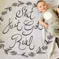 Детские одеяла новорожденных пеленать wrap двойной марля детские Прием Одеяло 100% хлопок дышащие и удобные детские одеяла wieg deken