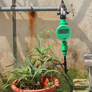 Image 4 - Automatic Smart Irrigation Controller  LCD Display Watering Timer Hose Faucet Timer Outdoor Waterproof Automatic On Off