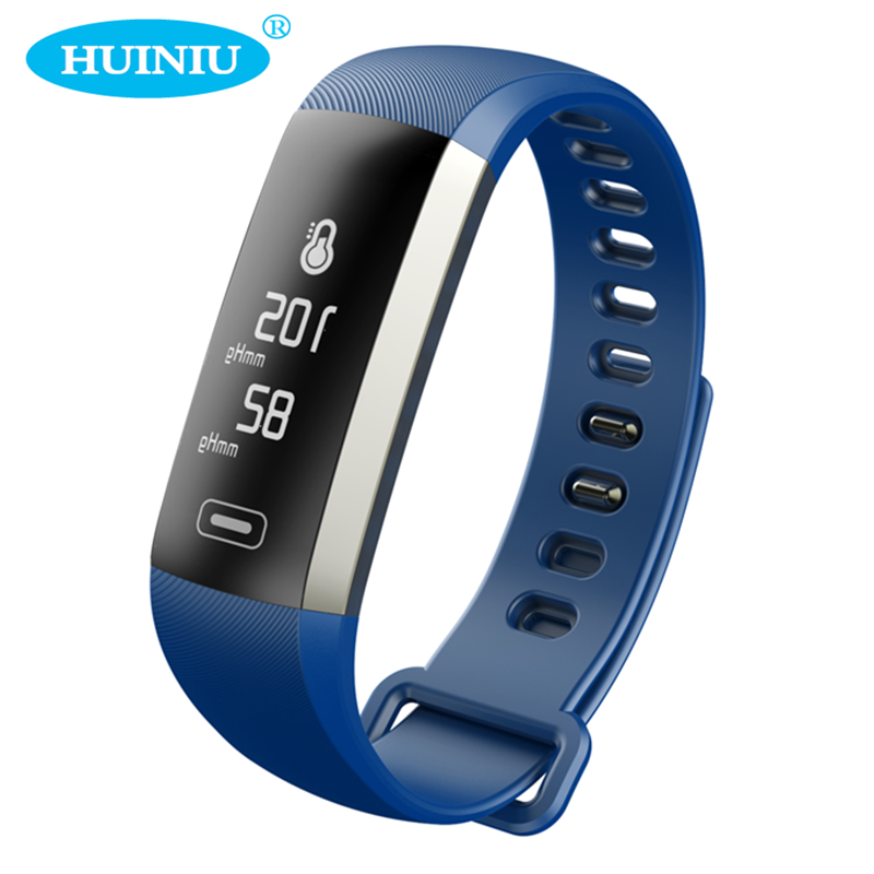 HUINIU M2S Plus Smart Bracelet Heart Rate Tracker Blood Pressure Oxygen Message Reminder Bluetooth Wristband IP67
