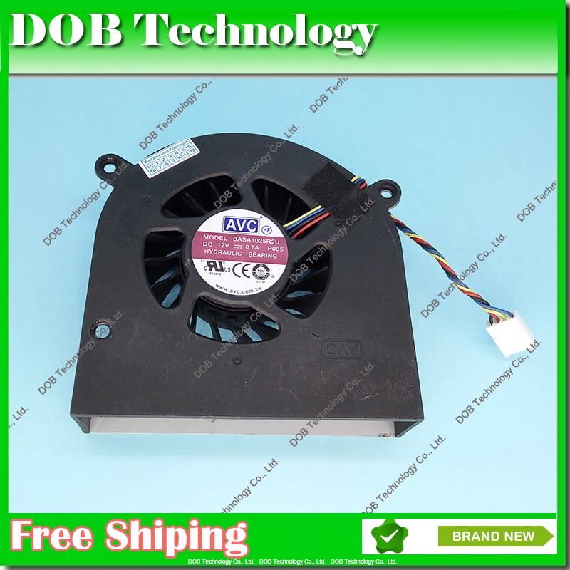 Ventilateur pour HP 1323-00DU0H2 Omni 220 320 420 520 620 KUC1012D 4 BROCHES Ordinateur Portable CPU Ventilateur De Refroidissement