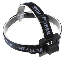 Head Strap Mount for Headlamp - Black