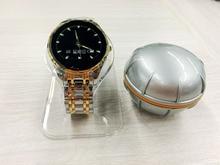 """T1 Pulsmesser Schrittzähler Smartwatch Mit Fishfind Funktion Tiefe Sonar Sensor 1,22 """"Runden Bildschirm Sitzende Erinnerung"""