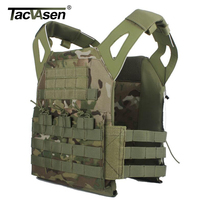 TACVASEN Camouflage Military Tactical Vest Wargame Body Molle Armor Vest Jungle Equipment Men Army Green Hunt