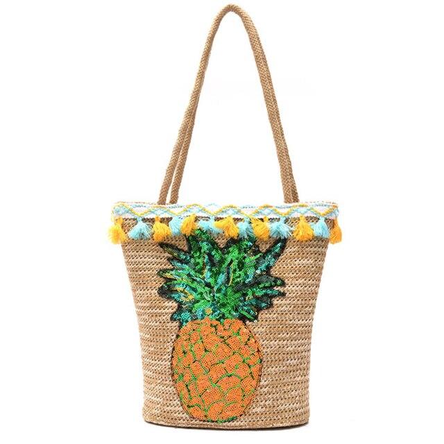 Aliexpress.com : Buy Handmade Tassel Summer Straw Handbags Women ...