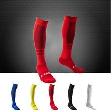 R-BAO One Pair High Quality Football Socks Soccer Men Sports Game Training Chaussette Calcetines Meia Futebol