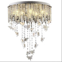 2015 New Arrived Romantic Angle 12 Heads Ceiling Lamp Dreamlike Bed Room Lamp Dia 40cm 50cm