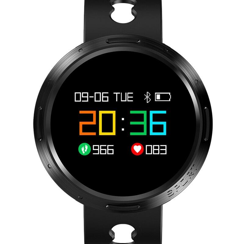 BANGWEI 2018 New Men Smart sport Watch Women LED Clock Blood Pressure Heart Rate Monitor Fitness Pedometer Bluetooth Smart Watch